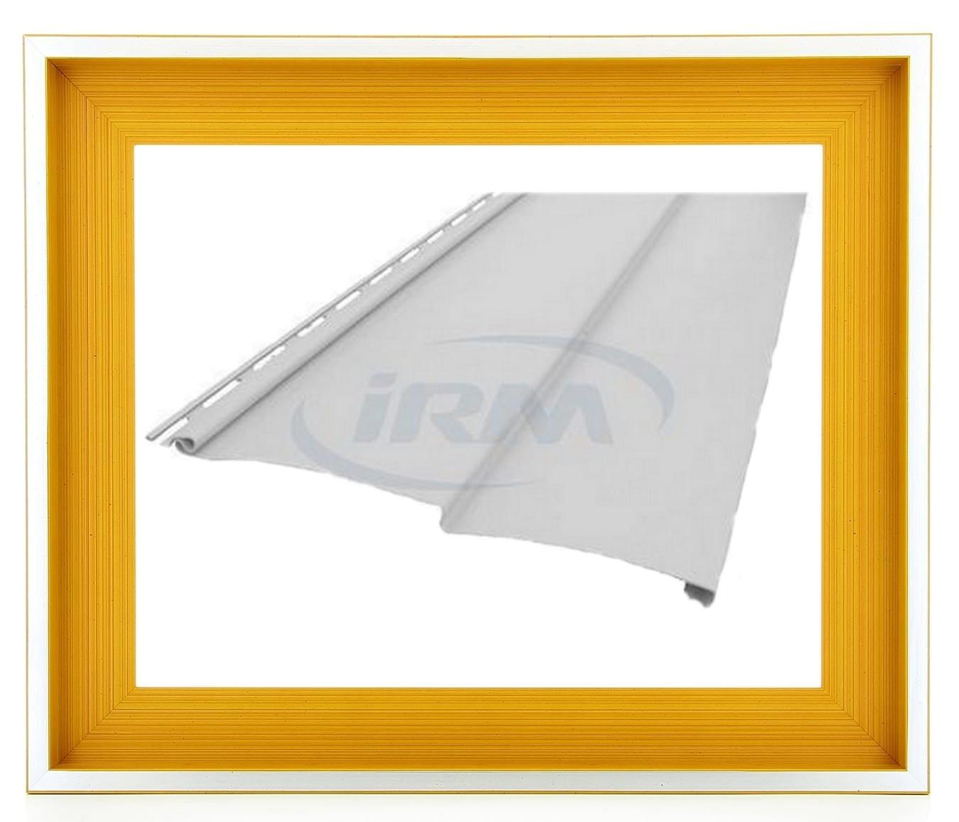 Profil blanc pi ce d tach es bardage ext rieur for Isolation exterieur mobil home