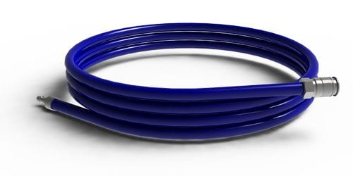 Flexible Bleu- longueur de 10m - 25 bar - Zen Mobil homes
