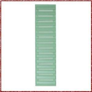 Volet persienne - vert blanc mat - pièce détachée - Zen Mobil homes