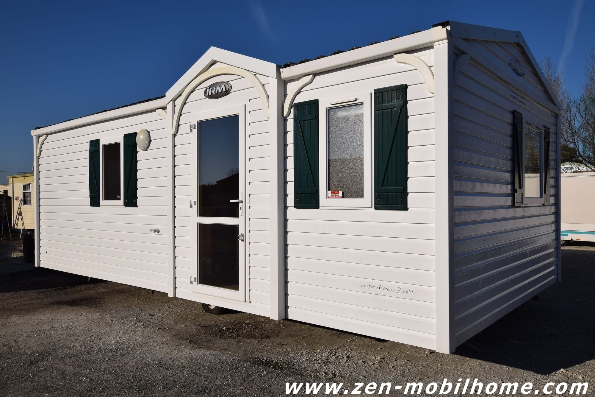 irm super mercure family mobil home d 39 occasion 7 500 zen mobil homes. Black Bedroom Furniture Sets. Home Design Ideas