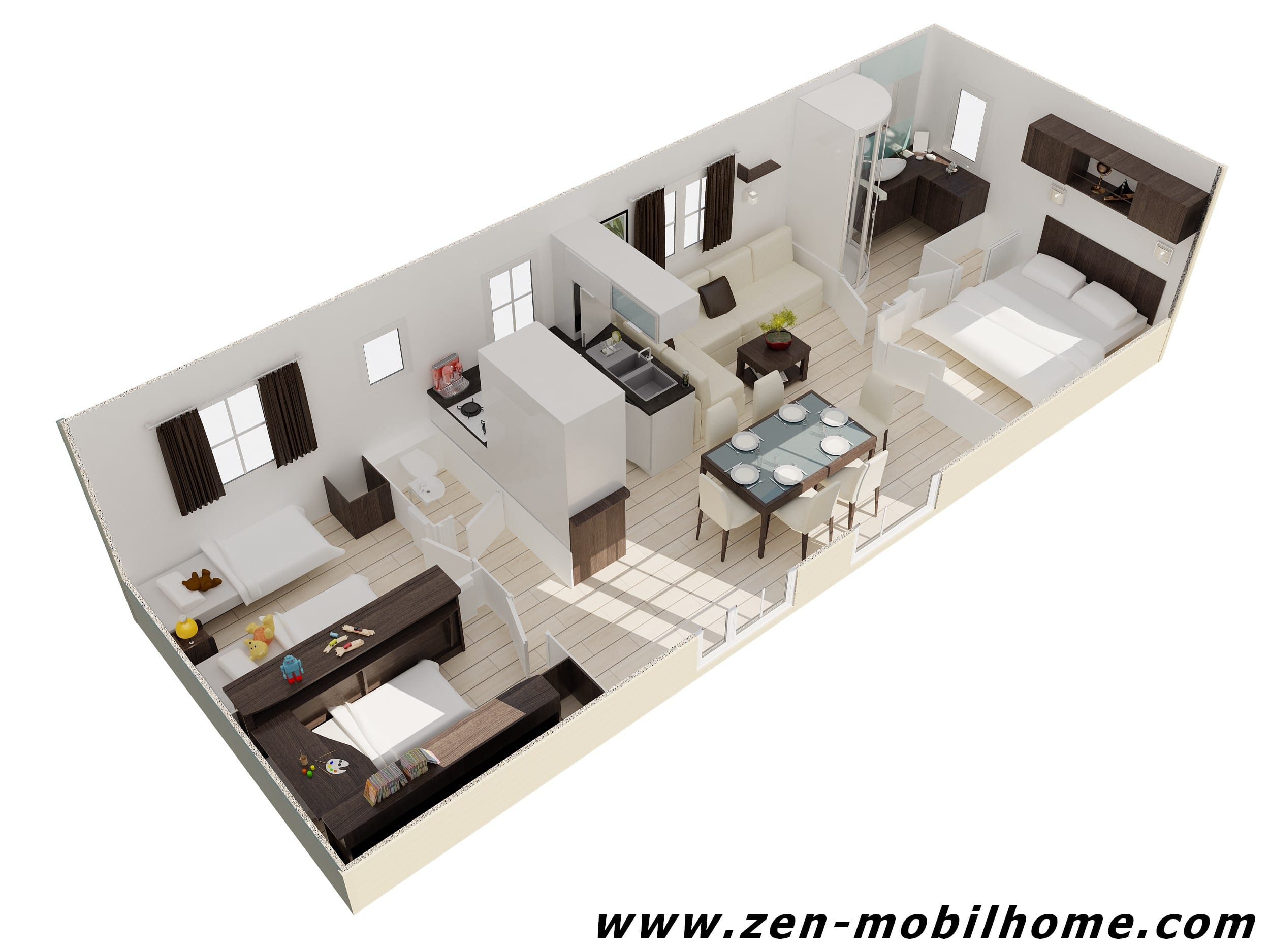 Louisiane blueberry mobil home d 39 occasion 29 000 for Mobil home louisiane 3 chambres prix