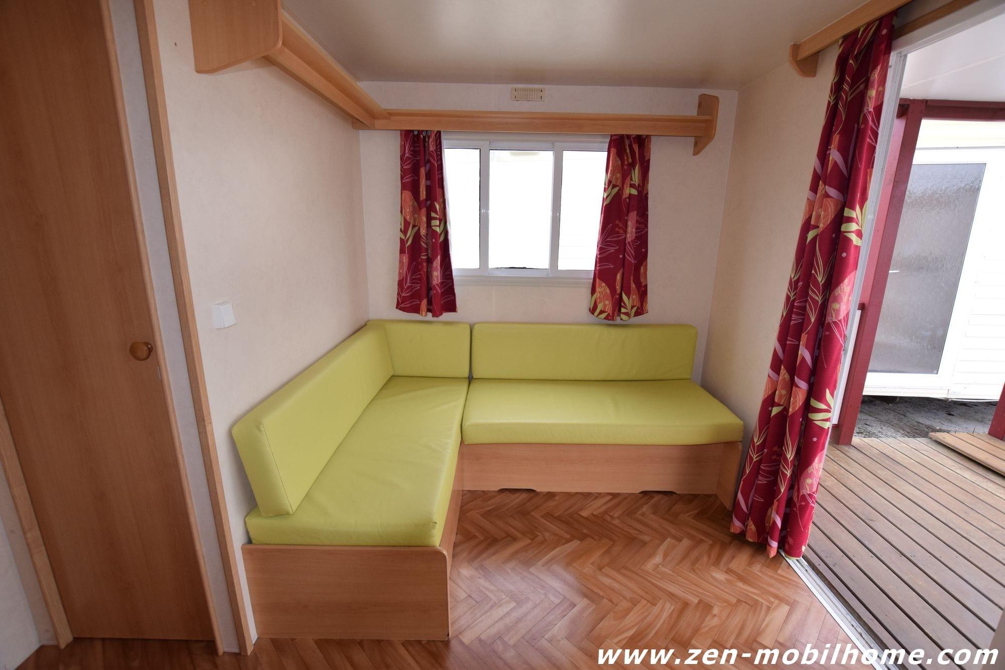 sun roller terrasse mobil home d 39 occasion 3 700 zen mobil homes. Black Bedroom Furniture Sets. Home Design Ideas