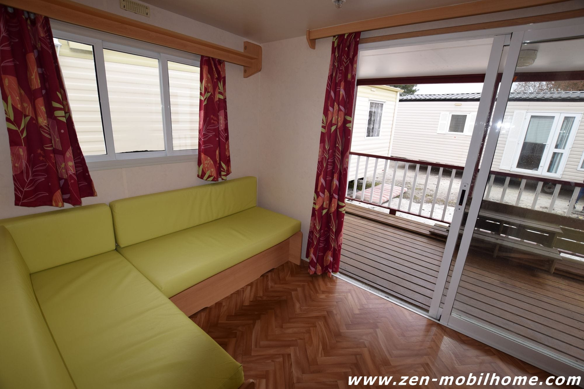 Terrasse Bois Mobil Home Occasion - Sun Roller terrasse Mobil home d'occasion 3 700 u20ac Zen Mobil homes