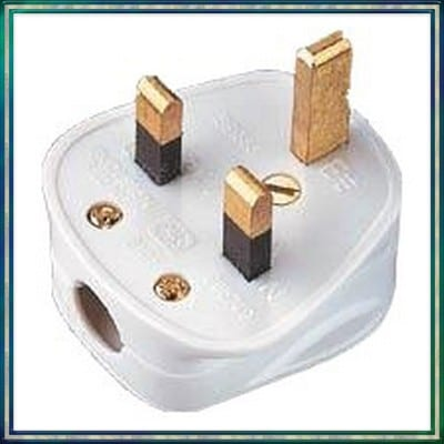 Prise anglaise 230v b255 pi ce d tach e anglaise zen mobil homes - Prise electrique en anglais ...