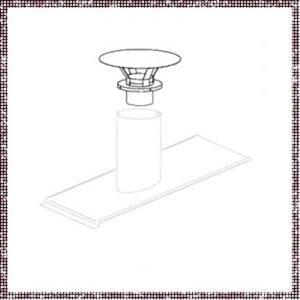 Capot de cheminée - 162471-C-3130 – pièce détachée – Zen Mobil homes