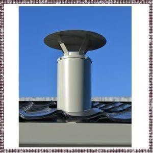 Cheminée + flexible - 162471-3130 – pièce détachée – Zen Mobil homes