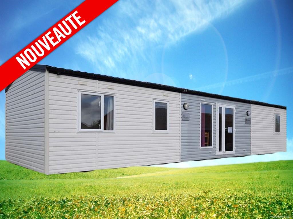 Victory Celeste – 2013 – Mobil home d'occasion – 25 000€ – 3 chambres – NOUVEAUTE