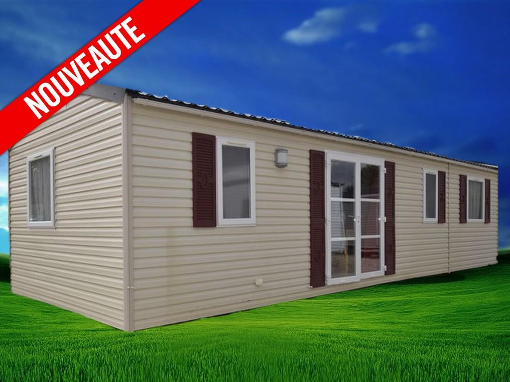 Rapidhome Elite 100 – 2010 – Mobil home d'occasion – 15 000€ – 3 chambres – NOUVEAUTE