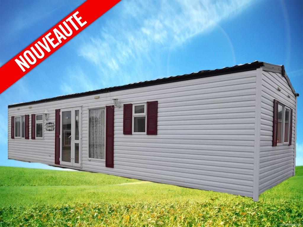 Cosalt Cascade 489 – 2006 – Mobil home d'occasion – 11 500€ – 3 Chambres – NOUVEAUTE