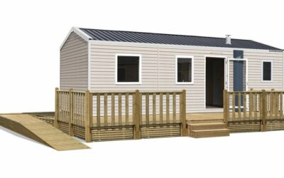 Rapidhome Lodge 87PMR – Neuf – Gamme locative – 2 chambres – Collection 2021