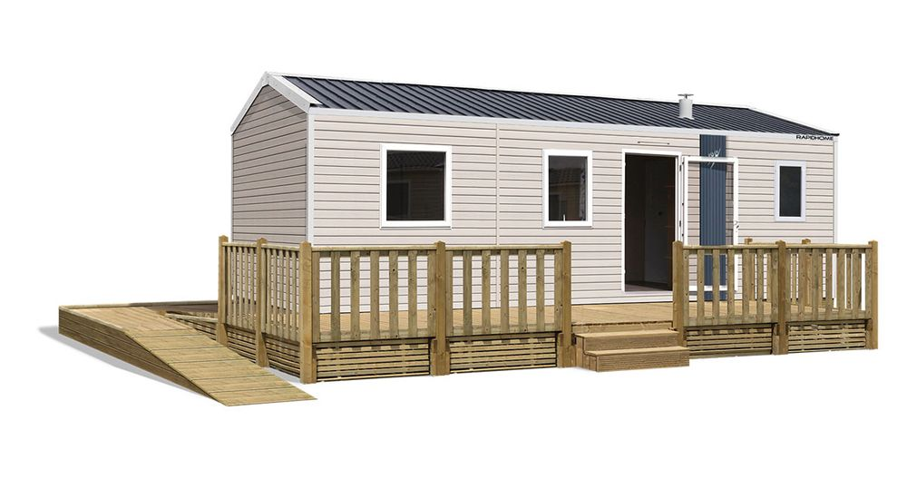 Rapidhome Lodge 87PMR - Neuf - Gamme locative - Zen Mobil homes