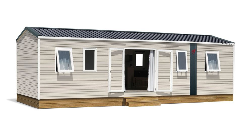 Rapidhome Lodge 1042 – Neuf – Gamme locative – 4 chambres – Collection 2021