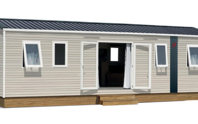 Rapidhome Lodge 1042 – Neuf – Gamme locative – 4 chambres – Collection 2022
