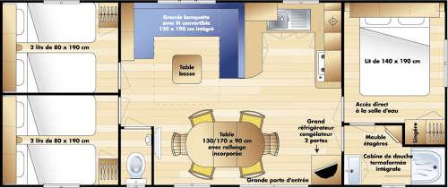 Irm Super Octalia - Mobil home d'occasion - 14 000€ - Zen Mobil homes