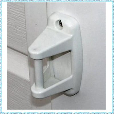 attache porte mobil home