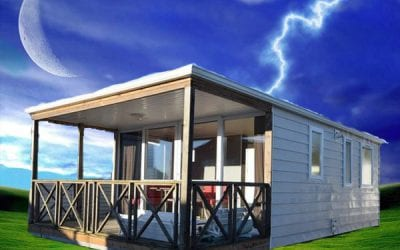 O'hara 8.34 Terrasse – Mobil home d'occasion – 8 500€