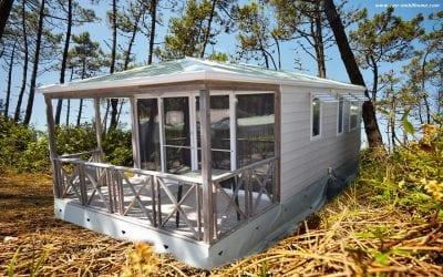 O'hara 8.34 Terrasse – Mobil home d'occasion – 8 500€ – DISPO en OCTOBRE