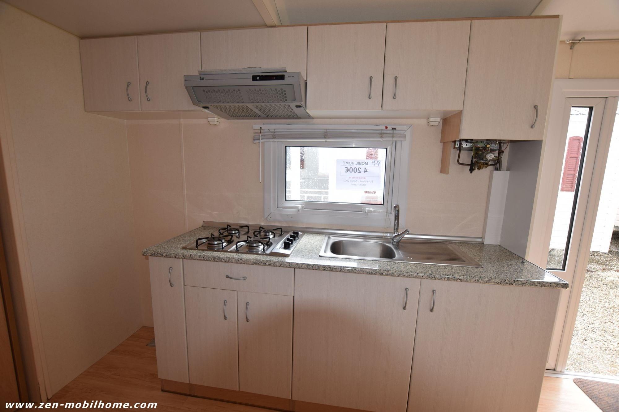 hergo mart 2003 mobil home d 39 occasion 4 200. Black Bedroom Furniture Sets. Home Design Ideas