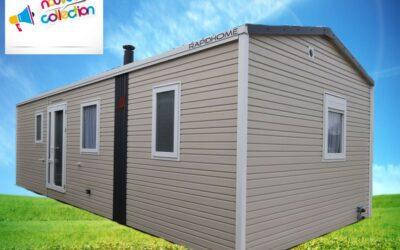 Rapidhome Lodge 872 – 2021 – Mobil home Neuf – 26 100€ – 2 chambres – NOUVEAUTE