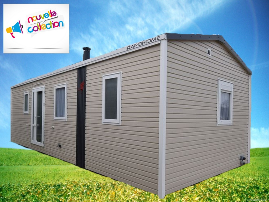 Rapidhome Lodge 872 – 2021 – Mobil home Neuf – 26 100€ – 2 chambres – NOUVEAUTE