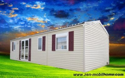 Rapidhome Elite 100 – 2010 – Mobil home d'occasion – 18 500€ – NOUVEAUTE