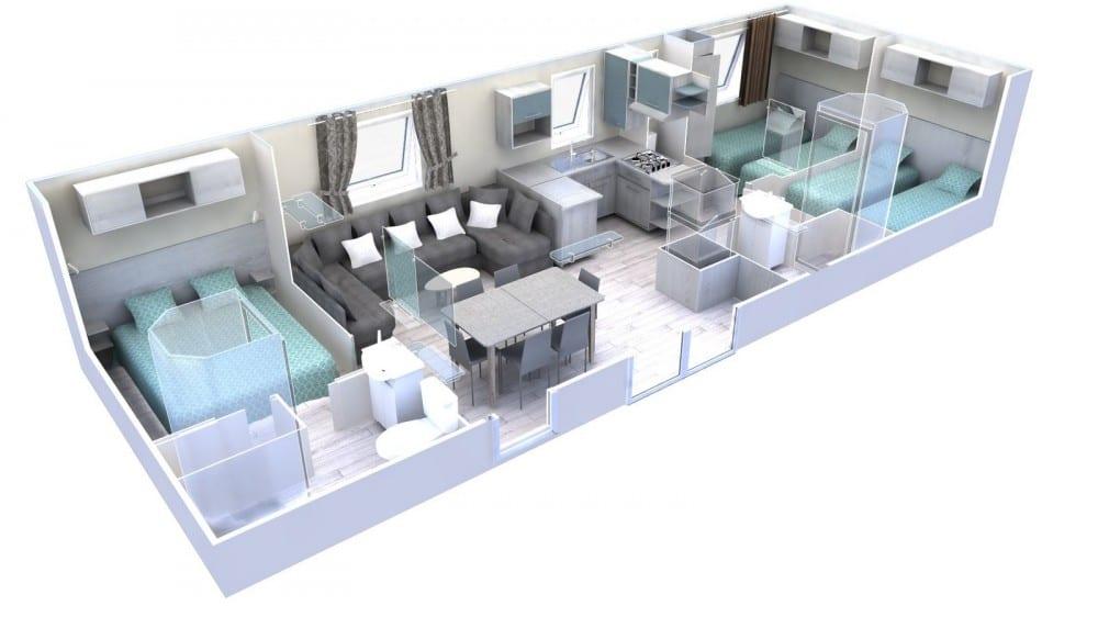 plan intérieur 3D