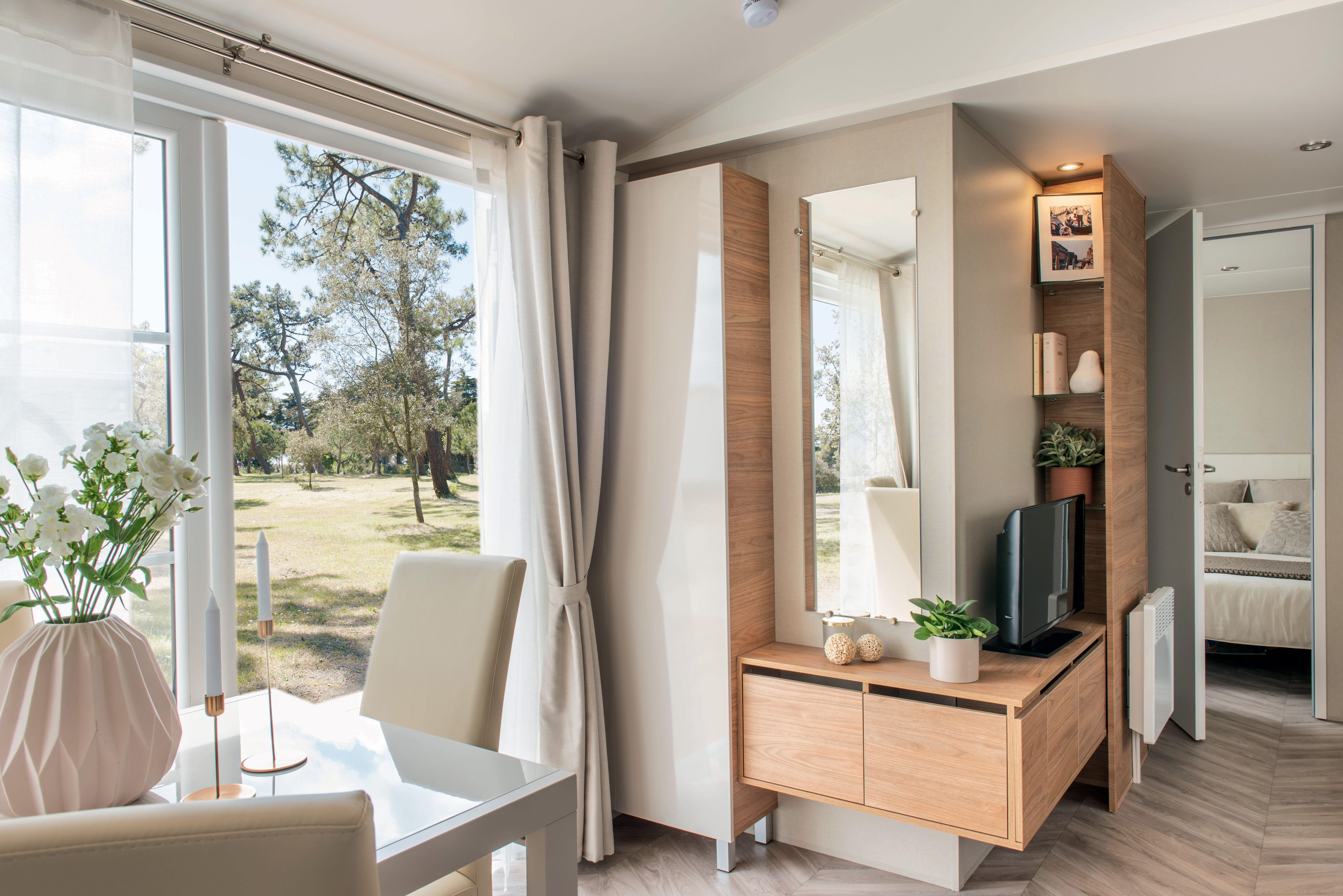 irm long island 3 mobil home neuf residentiel zen mobilhome. Black Bedroom Furniture Sets. Home Design Ideas