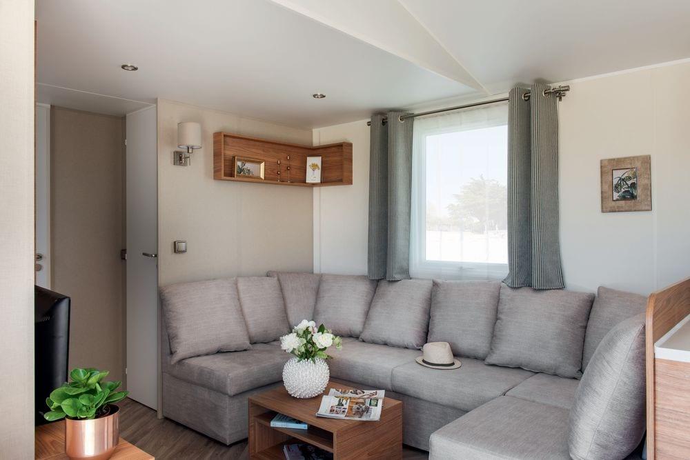 Salon avec canapé confort