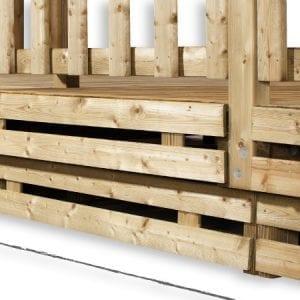 Bardage Terrasse 2.50x4.50m – Ep 13mm – Le Lot – Zen Mobil home