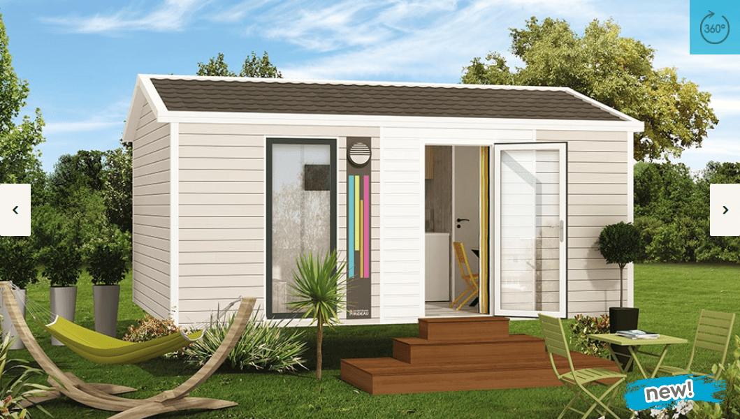 RIDOREV IBIZA SOLO MODULO – Mobil home neuf – Gamme Essentiel – Nouveauté 2018