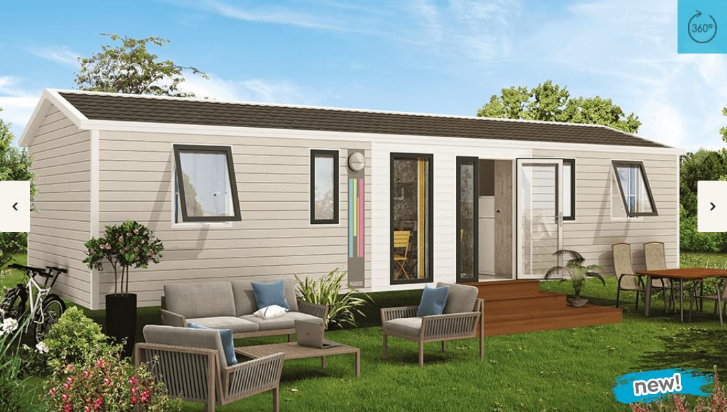 RIDOREV NIRVANA QUATTRO ESPACE – Mobil home neuf – Essentiel – Nouveauté 2018