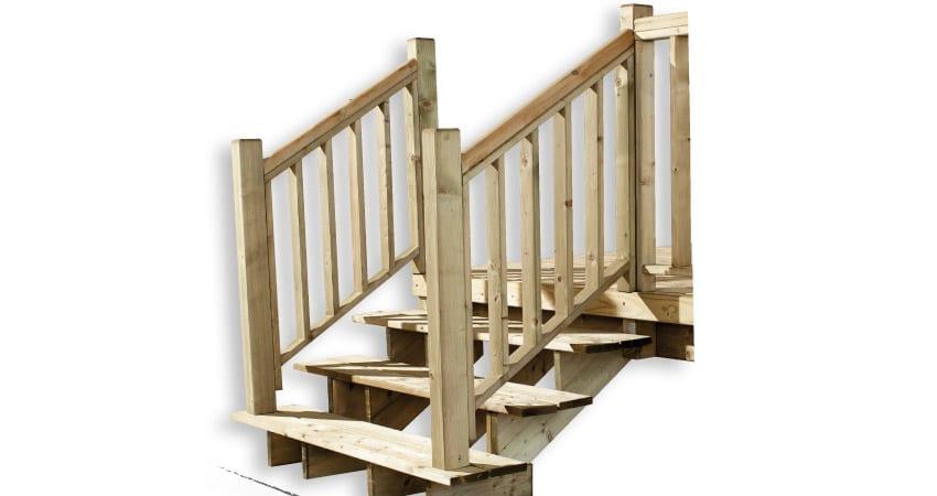 Lot 2 Rampes Pour Escalier 3 Marches