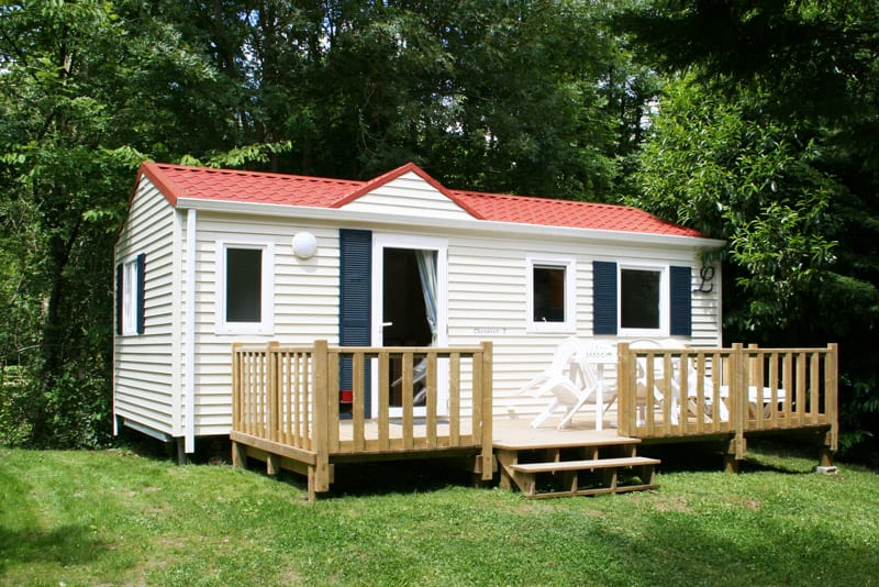 Terrasse ZENFINEA - Non couverte - 7.50x3m - 2 561€ - Zen Mobil homes