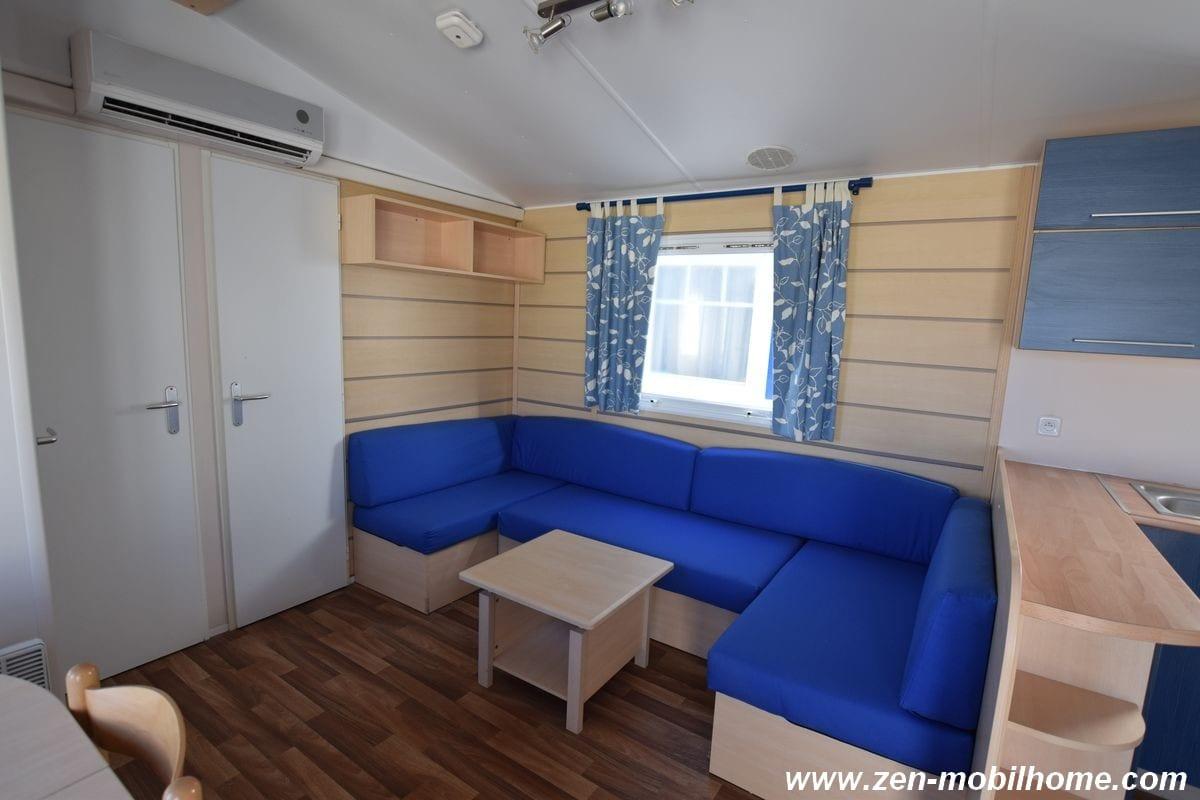 Irm super octalia mobil home d 39 occasion 14 500 zen for Salon mobil home