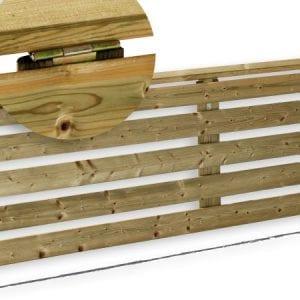panneau relevable - 2x0.60cm - unité - 81€ - Zen Mobil home