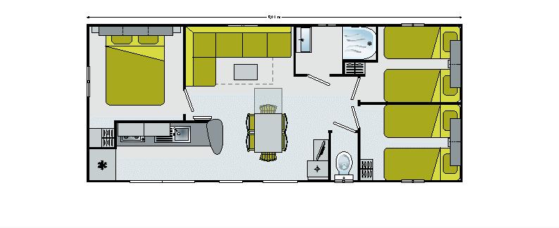 Irm Merveilla - 2012 - Mobil home d'occasion - Zen Mobil homes