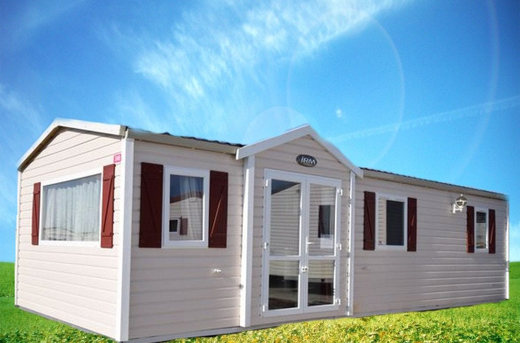 Irm Saphir Panoramique – 2008 – Mobil home d'occasion – 15 000€ – 2 CHAMBRES