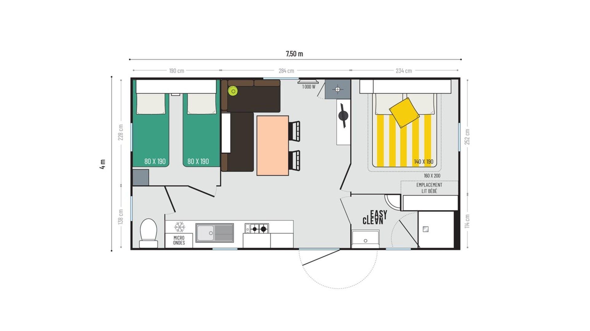 IRM SUPER MERCURE - Mobil home Neuf - Zen Mobil homes