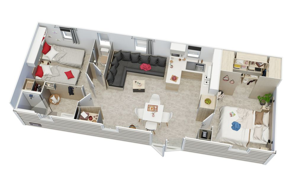 Irm Capucine - 2022 - Mobil home neuf - Résidentiel - Zen Mobil home