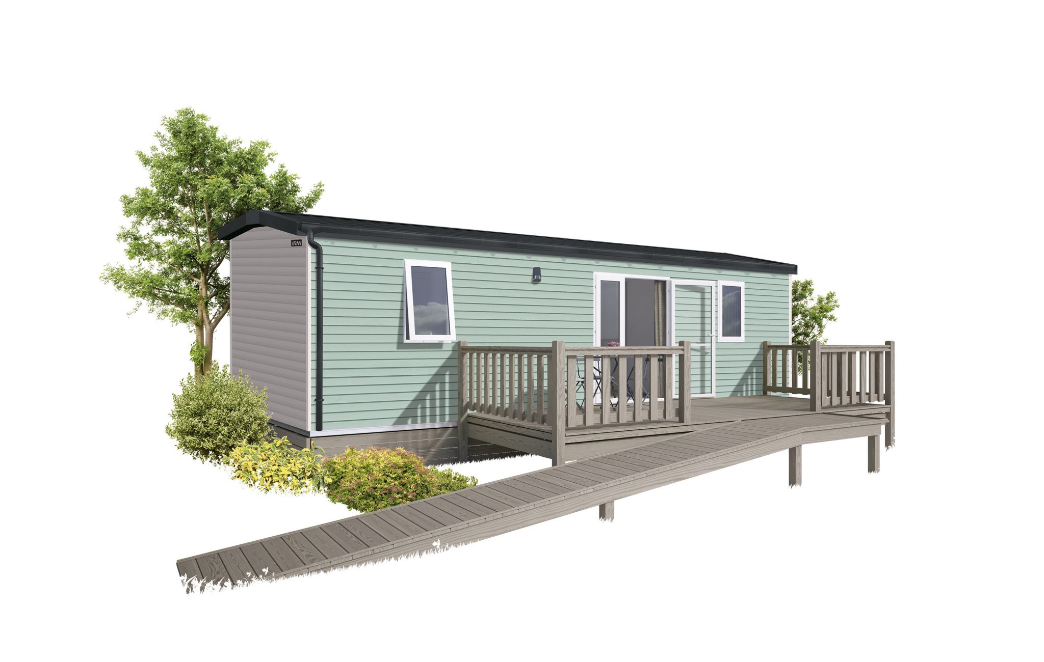 IRM LIFE – 2021 – MOBIL HOME NEUF – 2 Chambres – PMR – Collection 2021