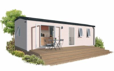 IRM RIVIERA 3- 2022 – MOBIL HOME NEUF – GAMME LOCATIVE – 3 Chambres – Collection 2022