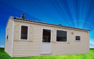 Rapidhome Captain 75 – 2005 – Mobil home d'occasion – 5 500€ – 2 Chambres
