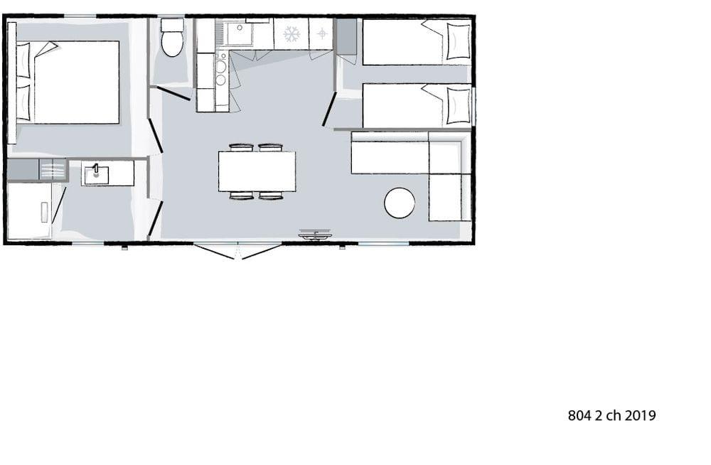 plan intérieur - Ohara 804 - 2019