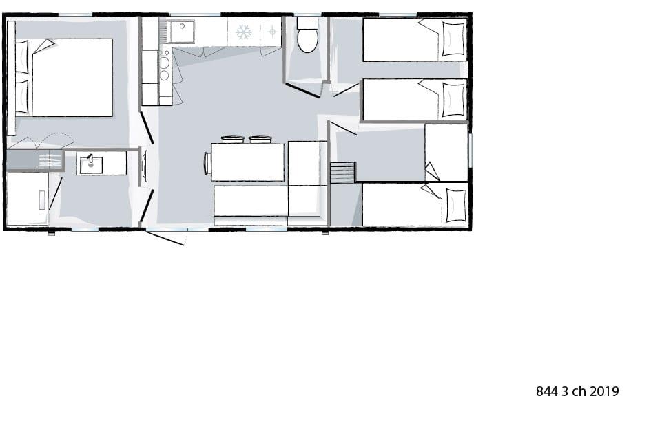 plan intérieur - Ohara 844 - 2019