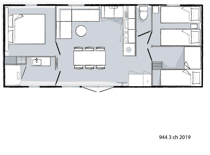 plan intérieur Ohara 944 - 2019