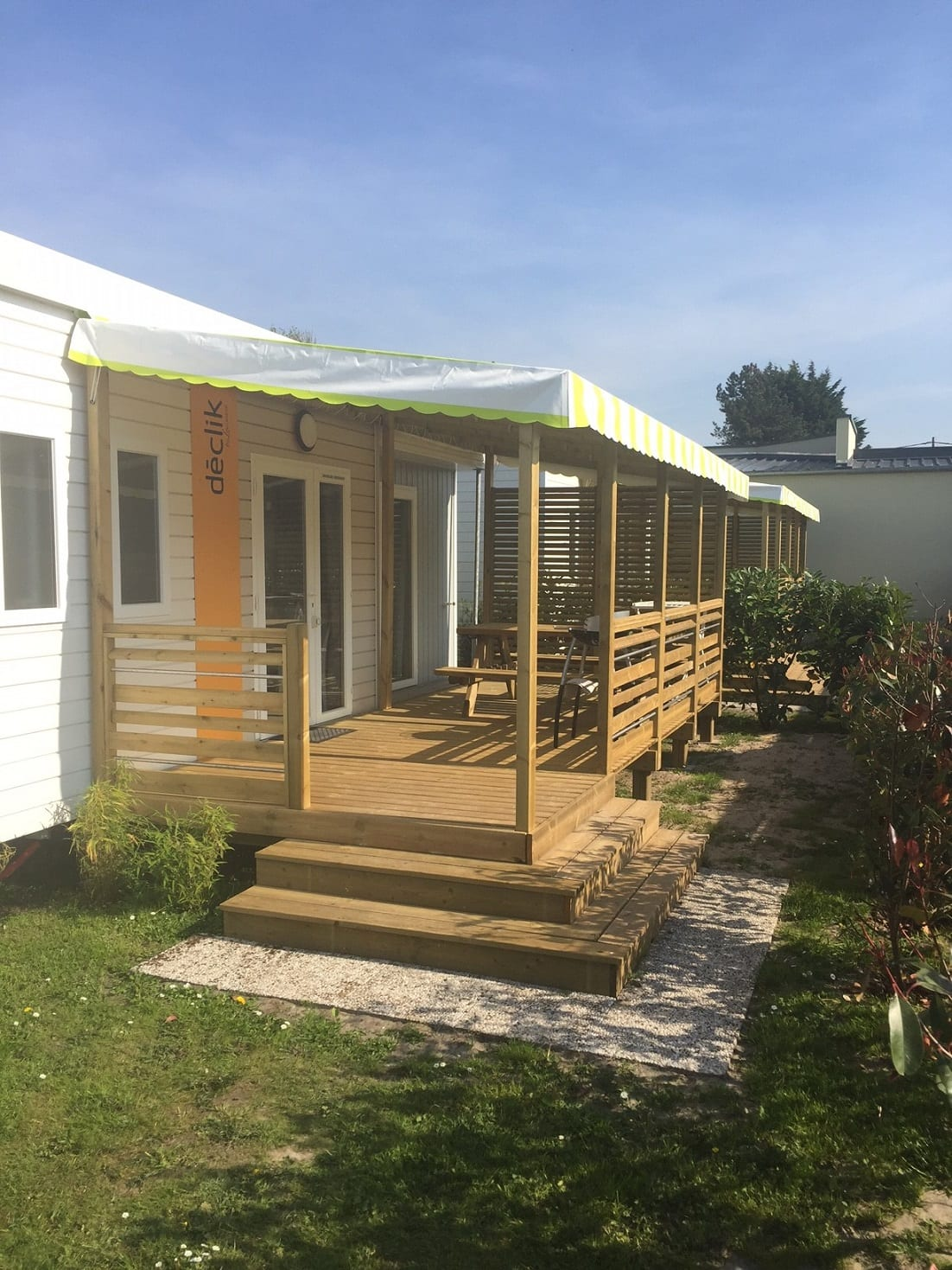 Terrasse Zenconfort - 6x2.50m - Couverte - 3 451€ - Zen Mobil homes