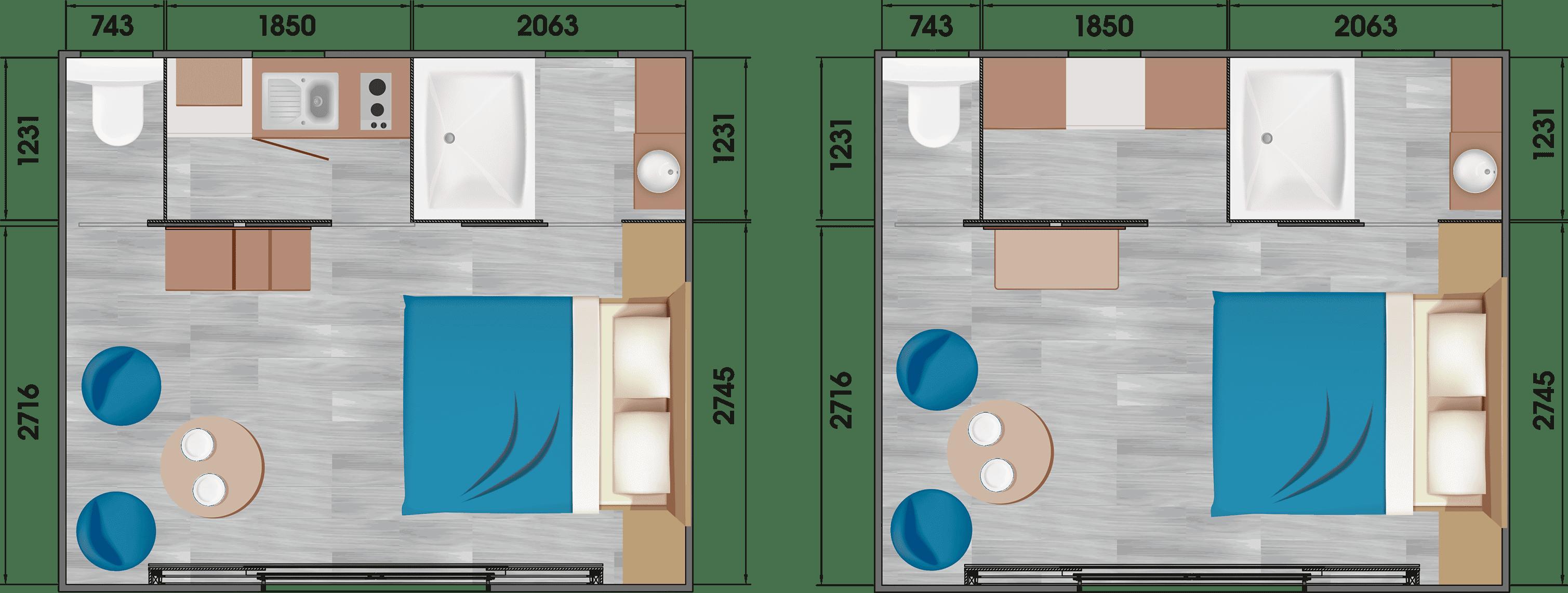 Louisiane Taos S2 - Mobil home Neuf - Taos - 2019 - Zen Mobil homes