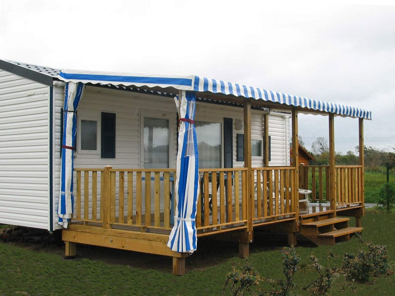 Terrasse Zenconfort - 9x2.50m - Couverte - 4 795€ - Zen Mobil homes