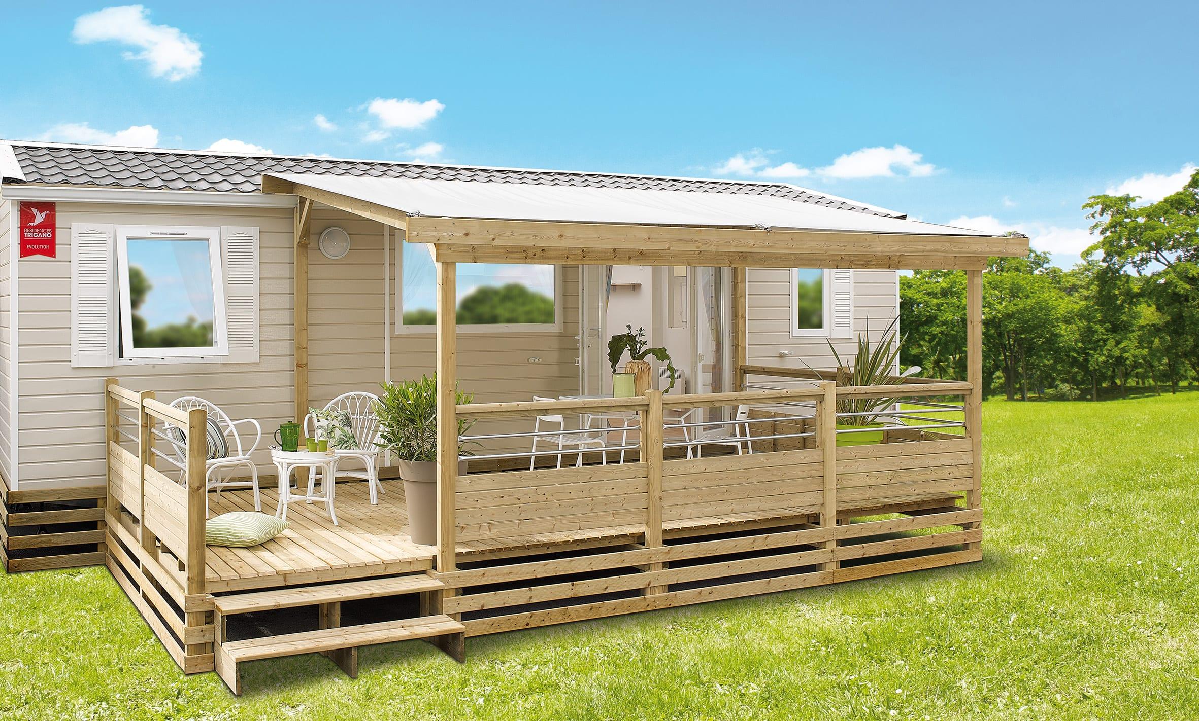 Terrasse Zenidea - 9x2.50m/3m - 3 323€ - Zen Mobl homes