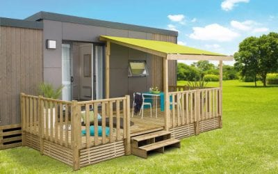 Terrasse Zenidea – 6×2.50m/4.50m – Semi couv – 22mm – Collection 2019 – 2 904€